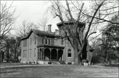 Thumbnail of Rickly House (President's Residence No. 1), The Ohio State University: Exterior view, 1937