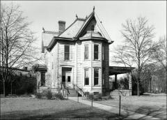 Thumbnail of Thomas House (Faculty Residence No. 3), The Ohio State University: Exterior view after relocation