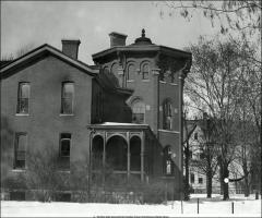 Thumbnail of Rickly House (President's Residence No. 1), The Ohio State University: Exterior view, 1931