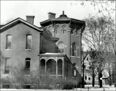 Thumbnail of Rickly House (President's Residence No. 1), The Ohio State University: Exterior view