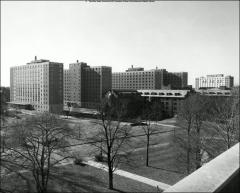 Thumbnail of South Dorms, The Ohio State University: View from roof of Ohio Union