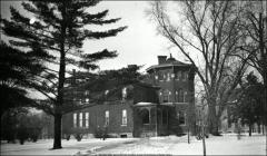 Thumbnail of Rickly House (President's Residence No. 1), The Ohio State University: Exterior view, 1892