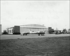 Thumbnail of Hangar No. 5, The Ohio State University: Exterior view