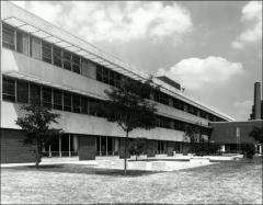 Thumbnail of Dodd Hall, The Ohio State University: Exterior view, 1966