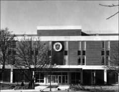 Thumbnail of Newton Hall, The Ohio State University: Exterior view, ca. 1975