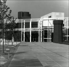 Thumbnail of Wexner Center for the Arts, The Ohio State University: Exterior view, 1989