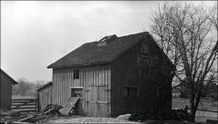 Thumbnail of Veterinary Hospital, The Ohio State University: Exterior view of barn behind hospital