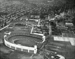 Thumbnail of Ohio Stadium, The Ohio State University: Aerial view, 1928