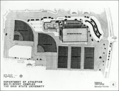 Thumbnail of Woody Hayes Athletic Center, The Ohio State University: Site plan, 1985
