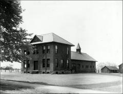 Thumbnail of Veterinary Hospital, The Ohio State University: Exterior view from northeast