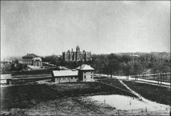 Thumbnail of Veterinary Hospital, The Ohio State University: Distant view looking north