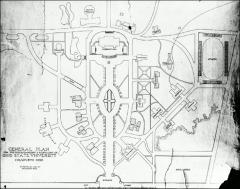 Thumbnail of Oval, The Ohio State University: Proposed Packard campus plan
