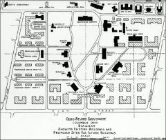 Thumbnail of Oval, The Ohio State University: Proposed Olmsted campus plan