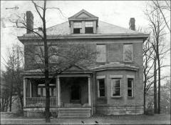 Thumbnail of Steeb House (original location), The Ohio State University: Exterior view