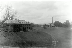 Thumbnail of Chemistry Building No. 2, The Ohio State University: Exterior view from east, 1896