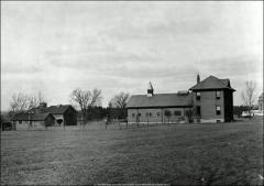Thumbnail of Veterinary Hospital, The Ohio State University: Exterior view looking northwest