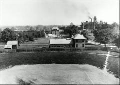 Thumbnail of Veterinary Hospital, The Ohio State University: Distant view from south