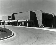 Thumbnail of University College Building 13 (Mount Hall), The Ohio State University: Exterior view, 1974