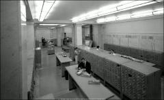 Thumbnail of Thompson Memorial Library, The Ohio State University: Interior view with card catalog