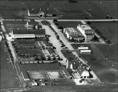 Thumbnail of West Campus, Ohio State University: Aerial view, 1947-1952