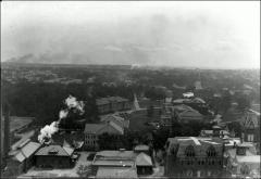 Thumbnail of Central Campus, The Ohio State University: Aerial view, 1918