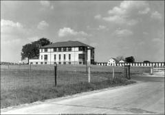 Thumbnail of Poultry Administration Building, The Ohio State University: View ca. 1948