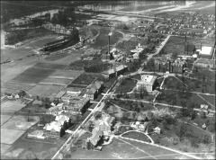 Thumbnail of Central Campus, The Ohio State University: Aerial view, 1922