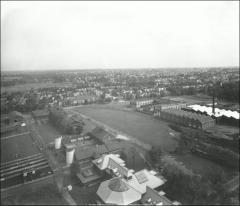 Thumbnail of Central Campus, The Ohio State University: Aerial view, ca. 1917-1923