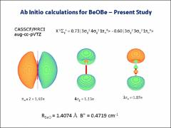 Thumbnail of IONIZATION ENERGY MEASUREMENTS AND SPECTROSCOPY OF THE BeOBe MOLECULE