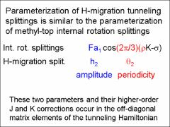 Thumbnail of THE CALCULATION OF ROTATIONAL ENERGY LEVELS USING TUNNELING HAMILTONIANS