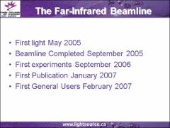 Thumbnail of THE FAR-INFRARED BEAMLINE AT THE CANADIAN LIGHT SOURCE