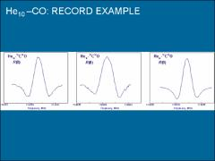 Thumbnail of MILLIMETER-WAVE SPECTRA OF CARBON MONOXIDE SOLVATED WITH HELIUM ATOMS