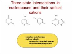 Thumbnail of THREE-STATE CONICAL INTERSECTIONS IN BIOLOGICALLY RELEVANT MOLECULES