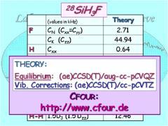 Thumbnail of SILYL FLUORIDE: LAMB-DIP SPECTRA AND EQUILIBRIUM STRUCTURE
