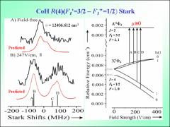 Thumbnail of THE OPTICAL STARK SPECTRA OF CoF AND CoH
