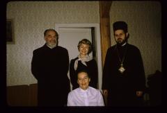 Thumbnail of Princess Margaret, Irene, Prot Nikolić, Bishop Lavrentije