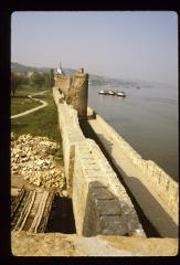 Thumbnail of Smederevo Fortress -- Walls along the Danube