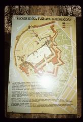 Thumbnail of Layout of Kalemegdan Park - Belgrade