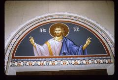 Thumbnail of St. Dimitrius Church, fresco -- Jesus