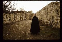 Thumbnail of Monk Marko on the pathway entering Kalemegdan