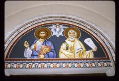 Thumbnail of St. Dimitrius Church, fresco -- The Holy Trinity