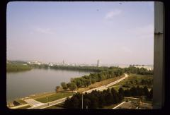 Thumbnail of View toward downtown Belgrade from my hotel room balcony