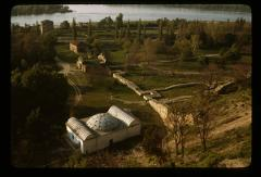 Thumbnail of Kalemegdan -- Looking down at the lower level of the Fortress