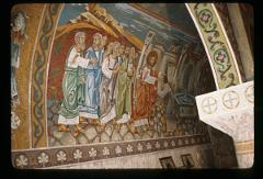 Thumbnail of Jesus cures the man who had been blind since birth -- mosaic