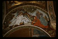 Thumbnail of The empty tomb of Christ -- the White Angel -- mosaic