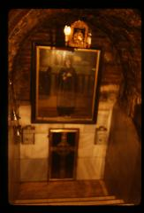 Thumbnail of New door at holy water spring in St. Petka Chapel