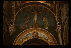 Thumbnail of The Crucifixion -- mosaic