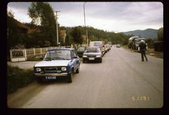 Thumbnail of Bishop Nikolaj Velimirović 's funeral procession in Požega
