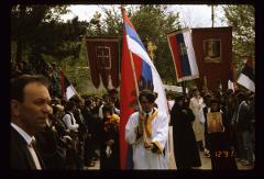 Thumbnail of Bishop Nikolaj Velimirović 's funeral procession