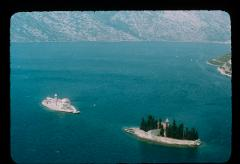 Thumbnail of The Bay of Kotor -- Our Lady on the Rocks (Gospa od Škrpjela) and St. George (Sv. Đorđe) islands